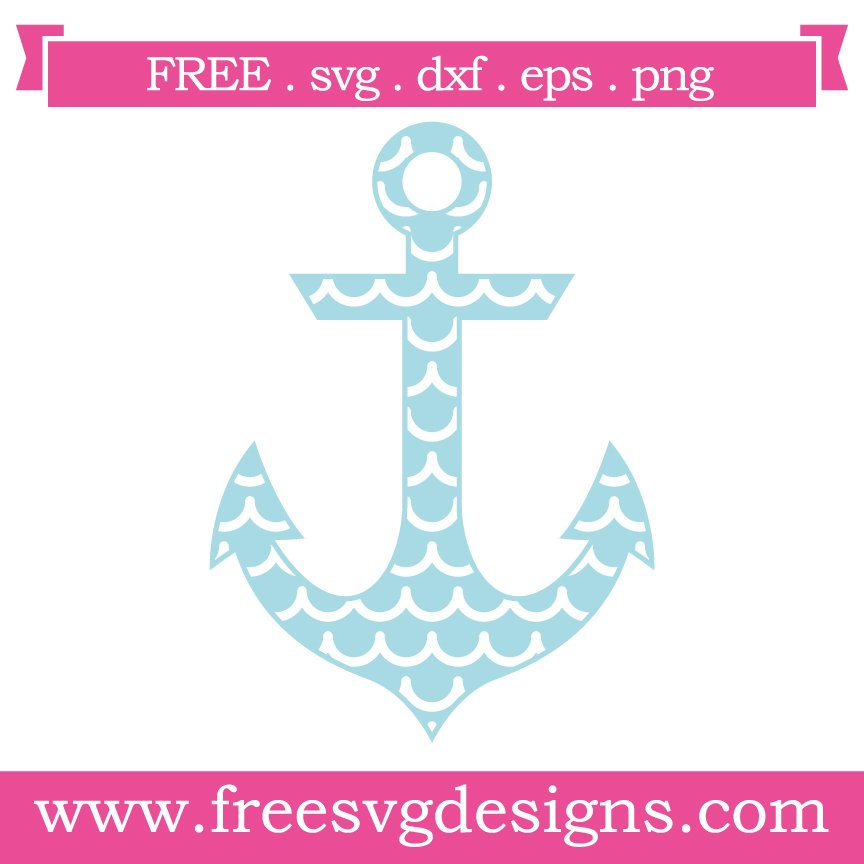 Free svg cut files anchor. This FREE download includes SVG, EPS, PNG and DXF files for personal cutting projects. Free vector / free svg monogram / free svg images for cricut