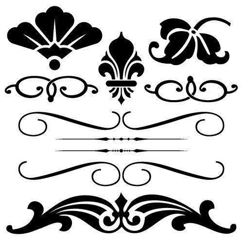 Free svg cut file - vintage elements . This FREE download includes SVG, EPS, PNG and DXF files for personal cutting projects. Free vector / free svg monogram / free svg images for cricut