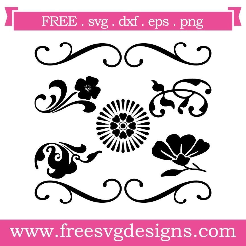 Free svg cut file - vintage elements. This FREE download includes SVG, EPS, PNG and DXF files for personal cutting projects. Free vector / free svg monogram / free svg images for cricut