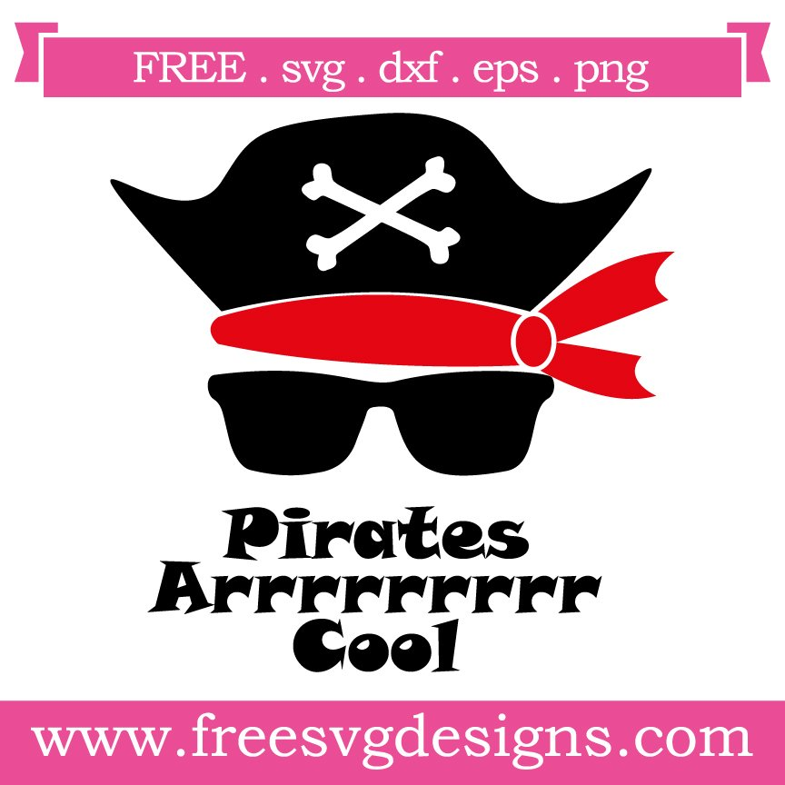 Free svg cut file Pirate. This FREE download includes SVG, EPS, PNG and DXF files for personal cutting projects. Free vector / free svg monogram / free svg images for cricut
