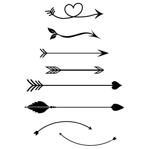 Free svg cut file arrows. This FREE download includes SVG, EPS, PNG and DXF files for personal cutting projects. Free vector / free svg monogram / free svg images for cricut