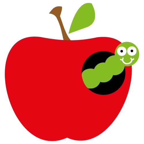 Free svg cut file apple with caterpillar. This FREE download includes SVG, EPS, PNG and DXF files for personal cutting projects. Free vector / free svg monogram / free svg images for cricut / teacher cutting file