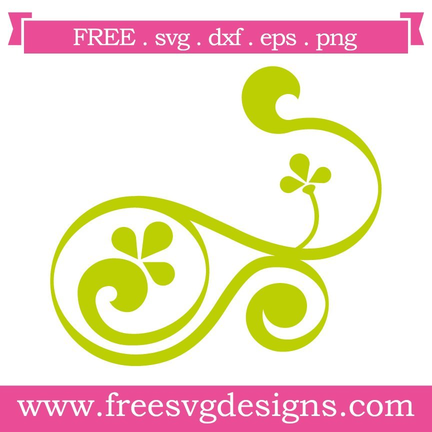 Free svg cut file swirls. This FREE download includes SVG, EPS, PNG and DXF files for personal cutting projects. Free vector / free svg monogram / free svg images for cricut