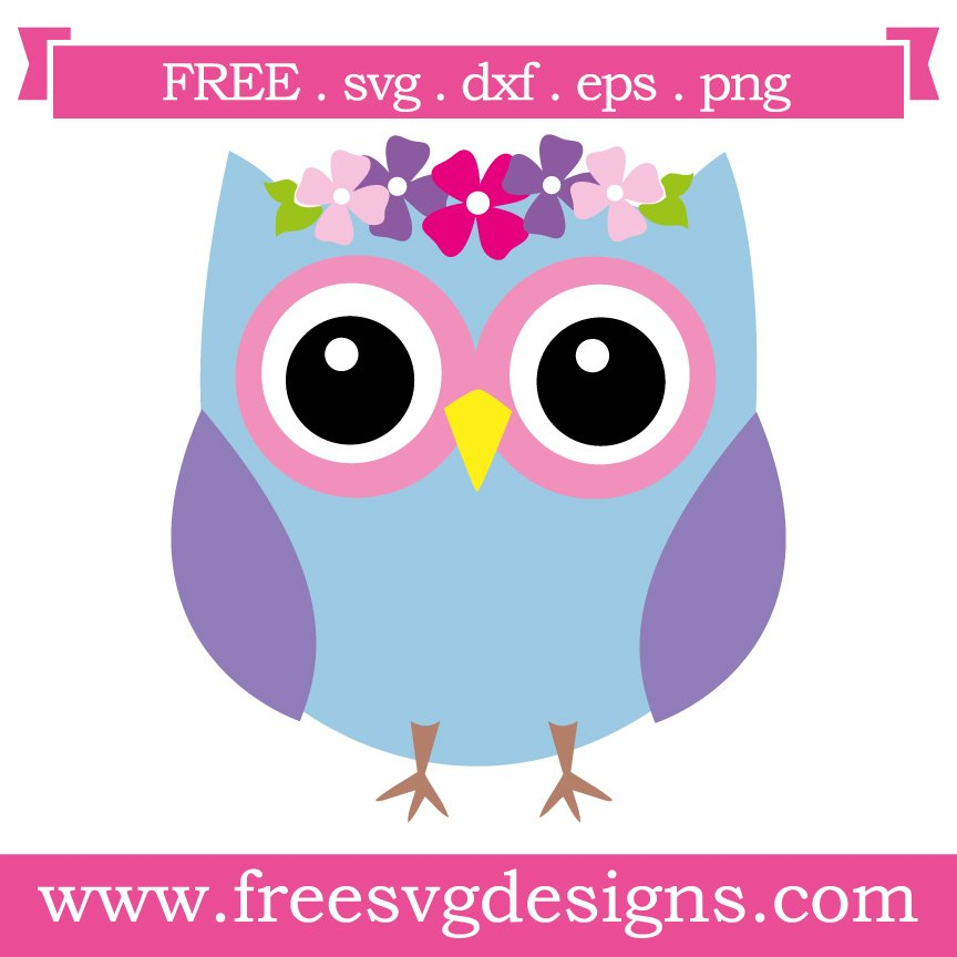 Free svg cut files owl with flowers. This FREE download includes SVG, EPS, PNG and DXF files for personal cutting projects. Free vector / free svg monogram / free svg images for cricut