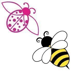 Lady Bird and Bee 248