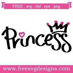 Princess Quote SVG