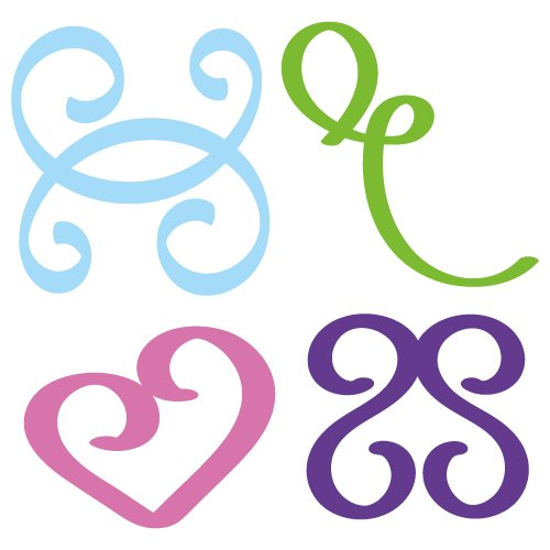 Free svg cut files swirls. This FREE download includes SVG, EPS, PNG and DXF files for personal cutting projects. Free vector / free svg monogram / free svg images for cricut / flourish