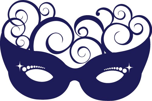 Free Svg Files Svg Png Dxf Eps Masquerade Swirl Mask