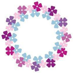 Floral Monogram Frame SVG