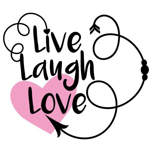 Free Svg Files Svg Png Dxf Eps Quote Live Laugh Love
