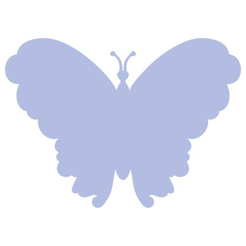 Butterfly Silhouette SVG