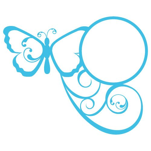 Free svg cut file butterfly monogram frame. FREE downloads includes SVG, EPS, PNG and DXF files for personal cutting projects. Free vector / printable / free svg images for cricut