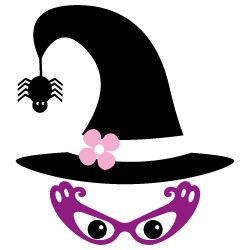Witch with glasses 340