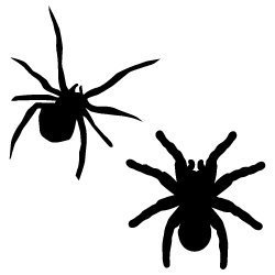 Free svg cut files spider silhouette. FREE downloads includes SVG, EPS, PNG and DXF files for personal cutting projects. Free vector / printable / free svg images for cricut