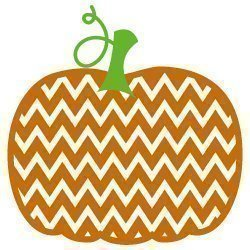 Chevron Pumpkin 390
