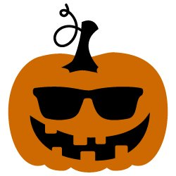 Pumpkin with Sunglasses 394