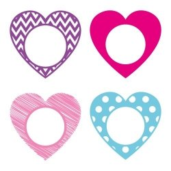 Free heart monogram frame at www.freesvgdesigns.com. FREE downloads includes SVG, EPS, PNG and DXF files for personal cutting projects. Free vector / printable / free svg images for cricut