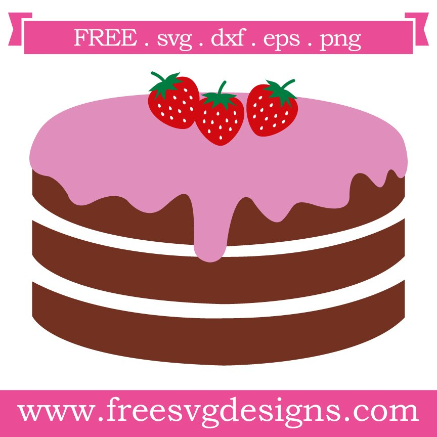 Free cake cut files at www.freesvgdesigns.com. FREE downloads includes SVG, EPS, PNG and DXF files for personal cutting projects. Free vector / printable / free svg images for cricut