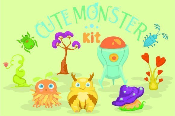 Cute Monster Kit