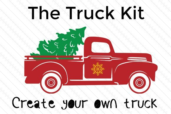 Create your Own Christmas Truck kit