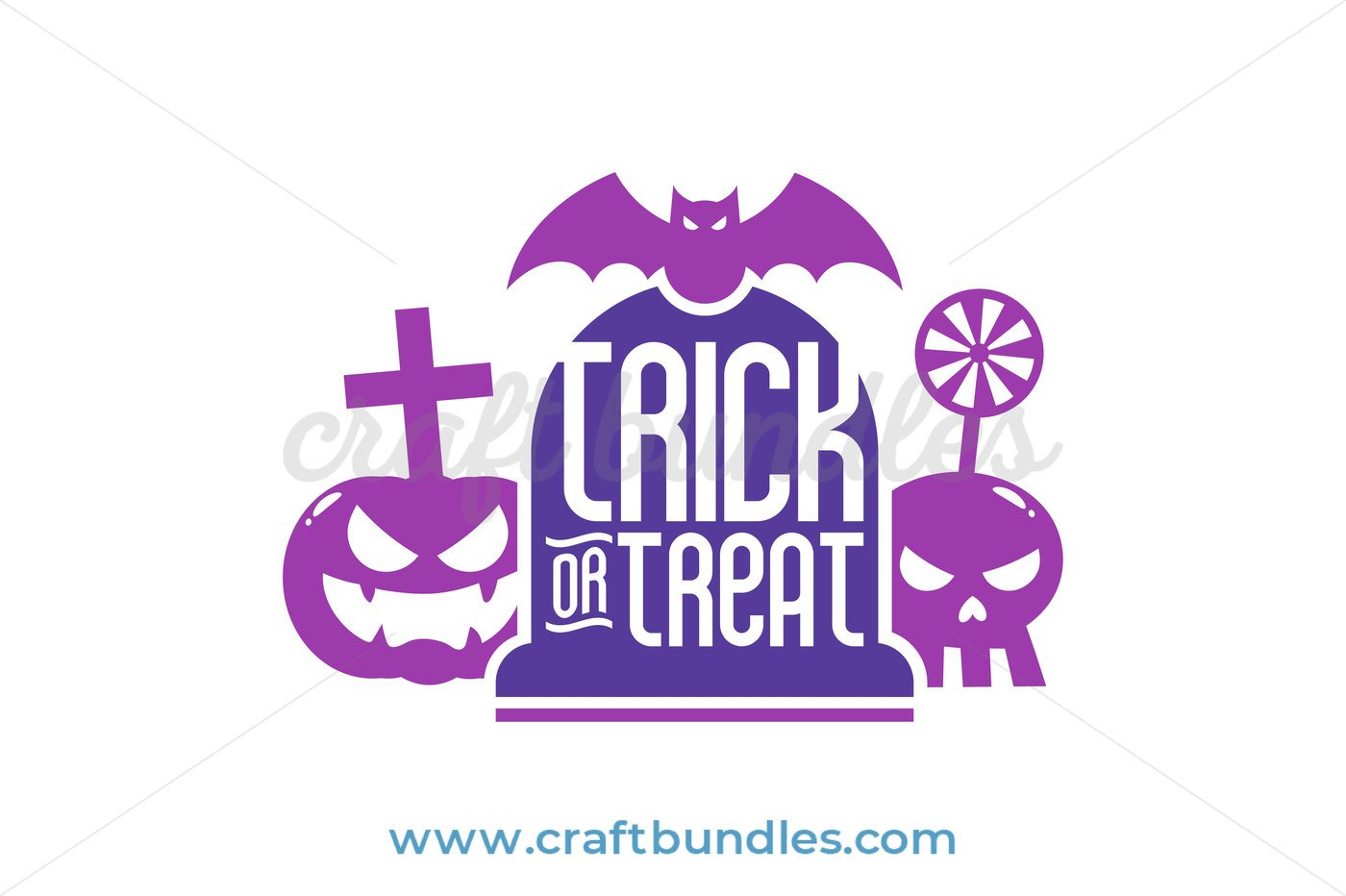 Trick or Treat Tombstone