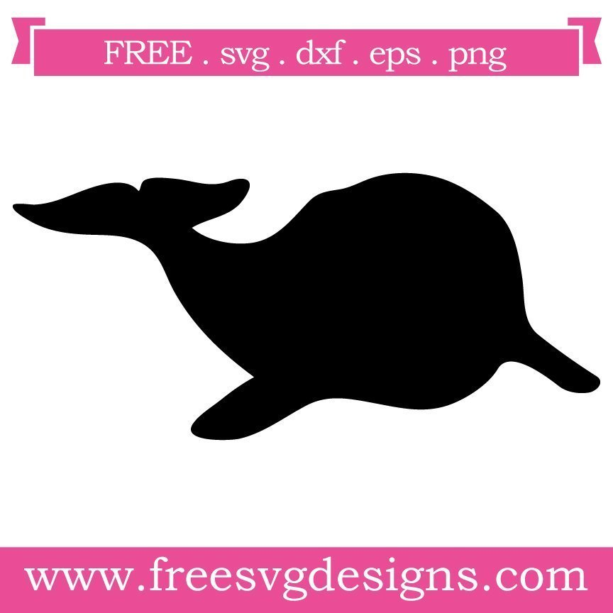 Free whale silhouette cut files at www.freesvgdesigns.com. FREE downloads includes SVG, EPS, PNG and DXF files for personal cutting projects. Free vector / printable / free svg images for cricut