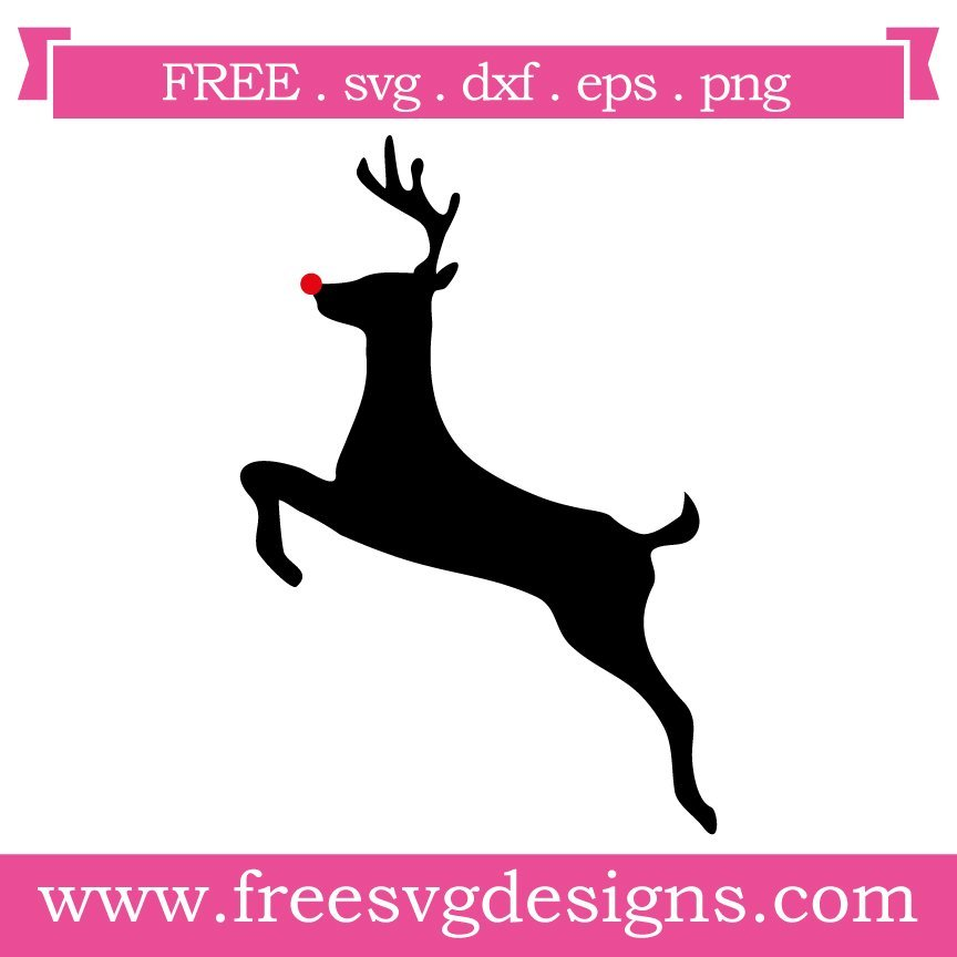 Free rudolph the reindeer cut files at www.freesvgdesigns.com. FREE downloads includes SVG, EPS, PNG and DXF files for personal cutting projects. Free vector / printable / free svg images for cricut