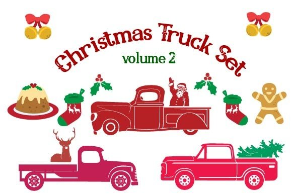 Christmas Truck Set Volume 2