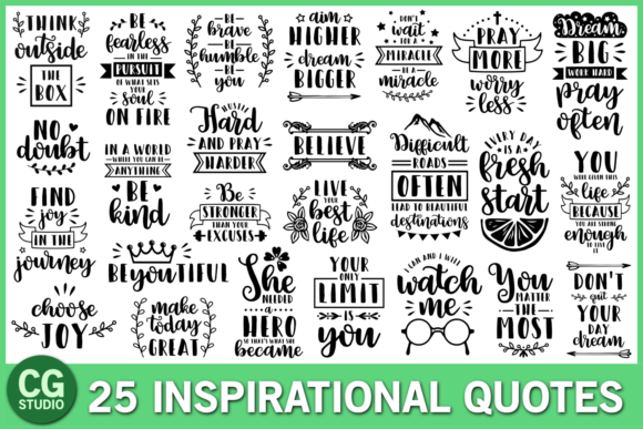 Inspirational Quotes Bundle
