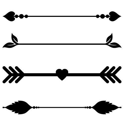 Free Arrow cut files at www.freesvgdesigns.com. FREE downloads includes SVG, EPS, PNG and DXF files for personal cutting projects. Free vector / printable / free svg images for cricut