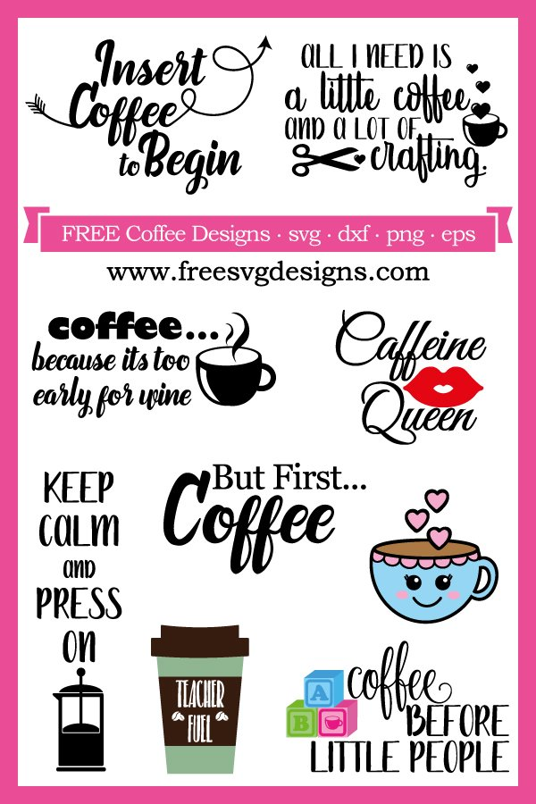 Inspirational Coffee Mom And Love Quotes For Craft Projects