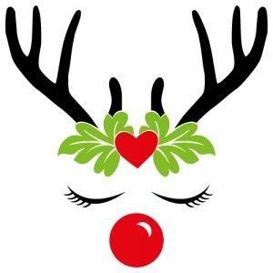 Reindeer with Leaf Crown 520