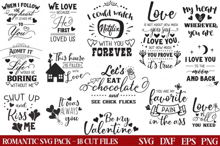 18 Valentine S Day Quotes Free Svg Designs