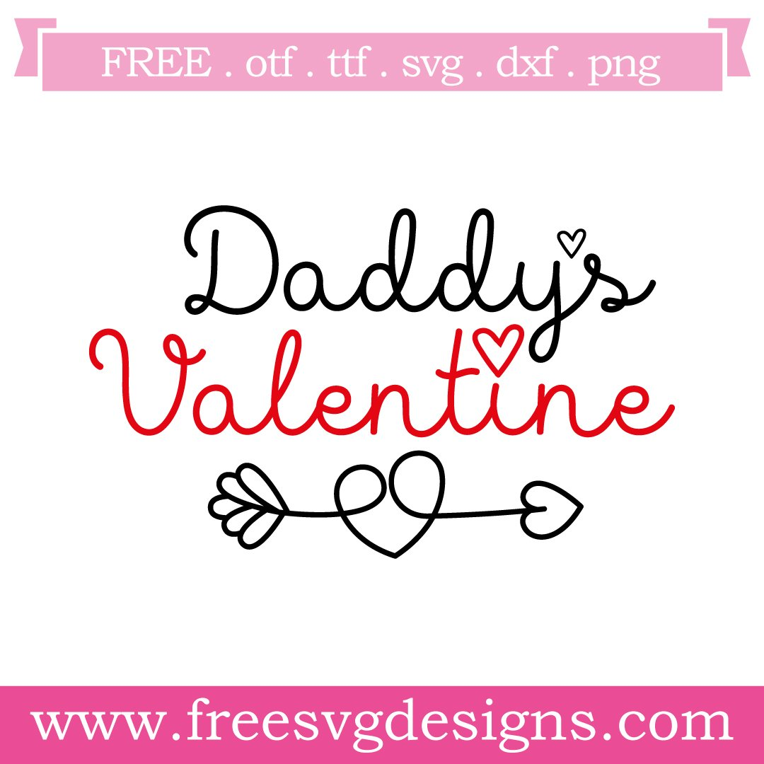 Free valentine cut files at www.freesvgdesigns.com. Our FREE downloads includes OTF, TTF, SVG, PNG and DXF files for personal cutting projects. Free vector / printable / free svg images for cricut