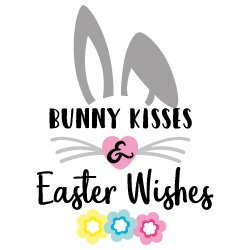 Bunny Kisses and Easter Wishes 629