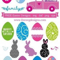 Easter SVG Designs