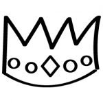 Hand drawn Crown 663