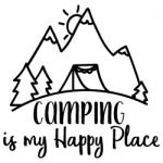 Camping is my Happy Place 671