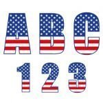 USA Monogram Font 685
