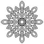 Mandala SVG design