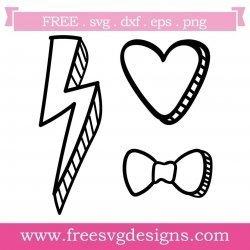 Free Doodle Art SVG designs