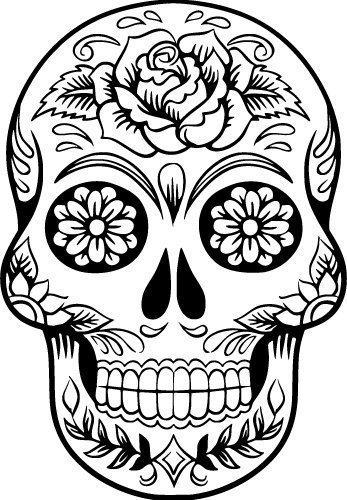 Free Svg Files Svg Png Dxf Eps Sugar Skull Design