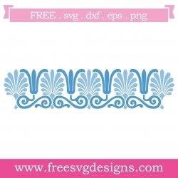 Free border pattern SVG files