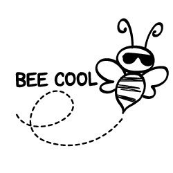 Free SVG files - Bee Cool