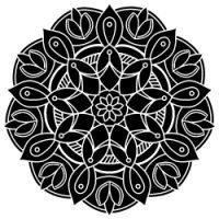 Free SVG Files - Mandala Pattern