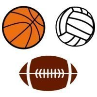 Free SVG Files - Sports Balls