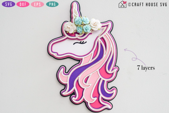 Download 20 Of The Best Free Unicorn Svg Files To Download