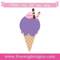 Free Ice Cream SVG files