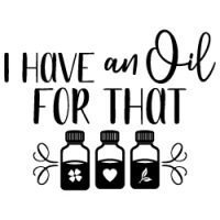 I have an essential oil for that quote