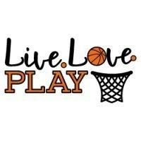 Live Love Plat Basketball SVG